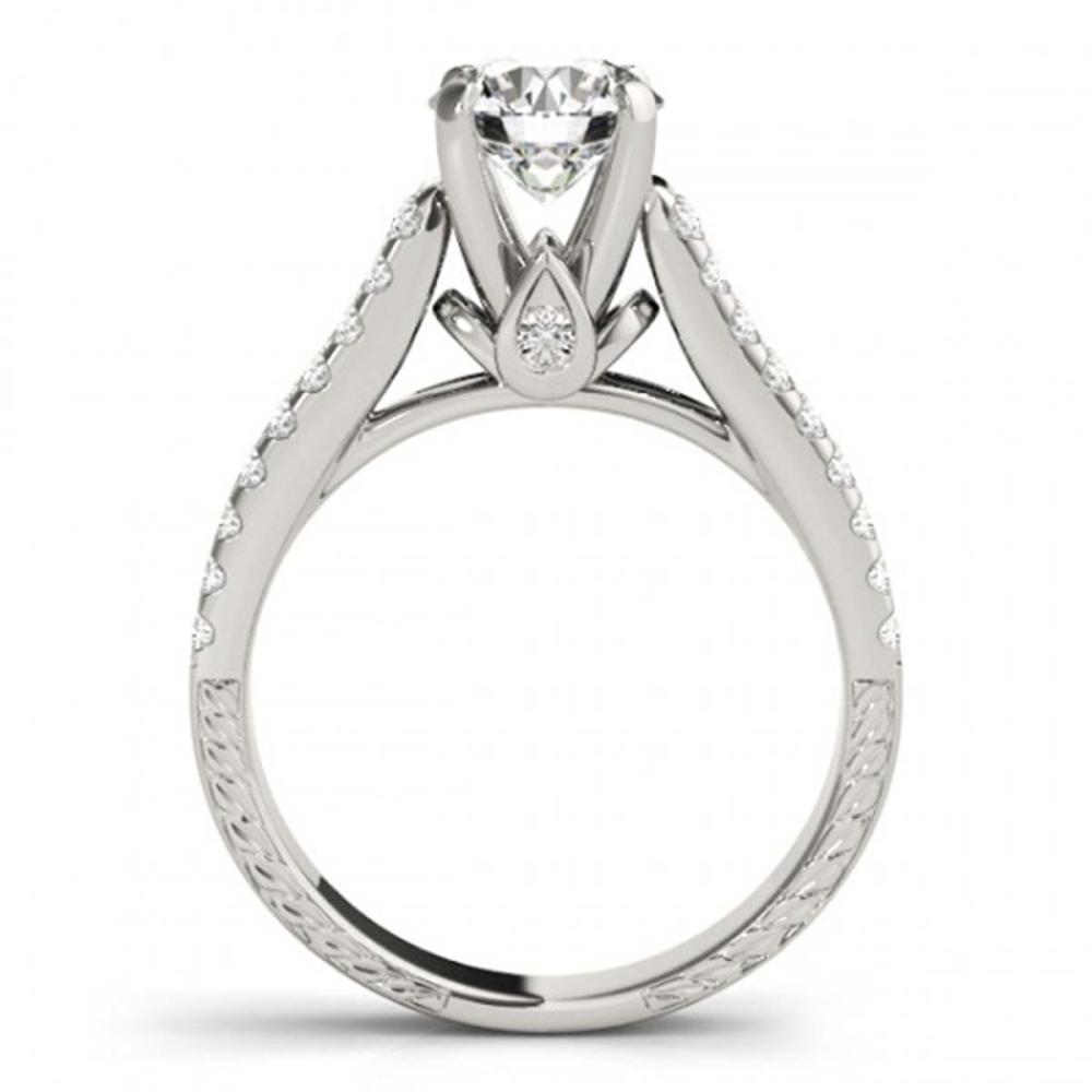 1.95 ctw VS/SI Diamond 2pc Wedding Set 14K White Gold - REF-306X5R - SKU:32062