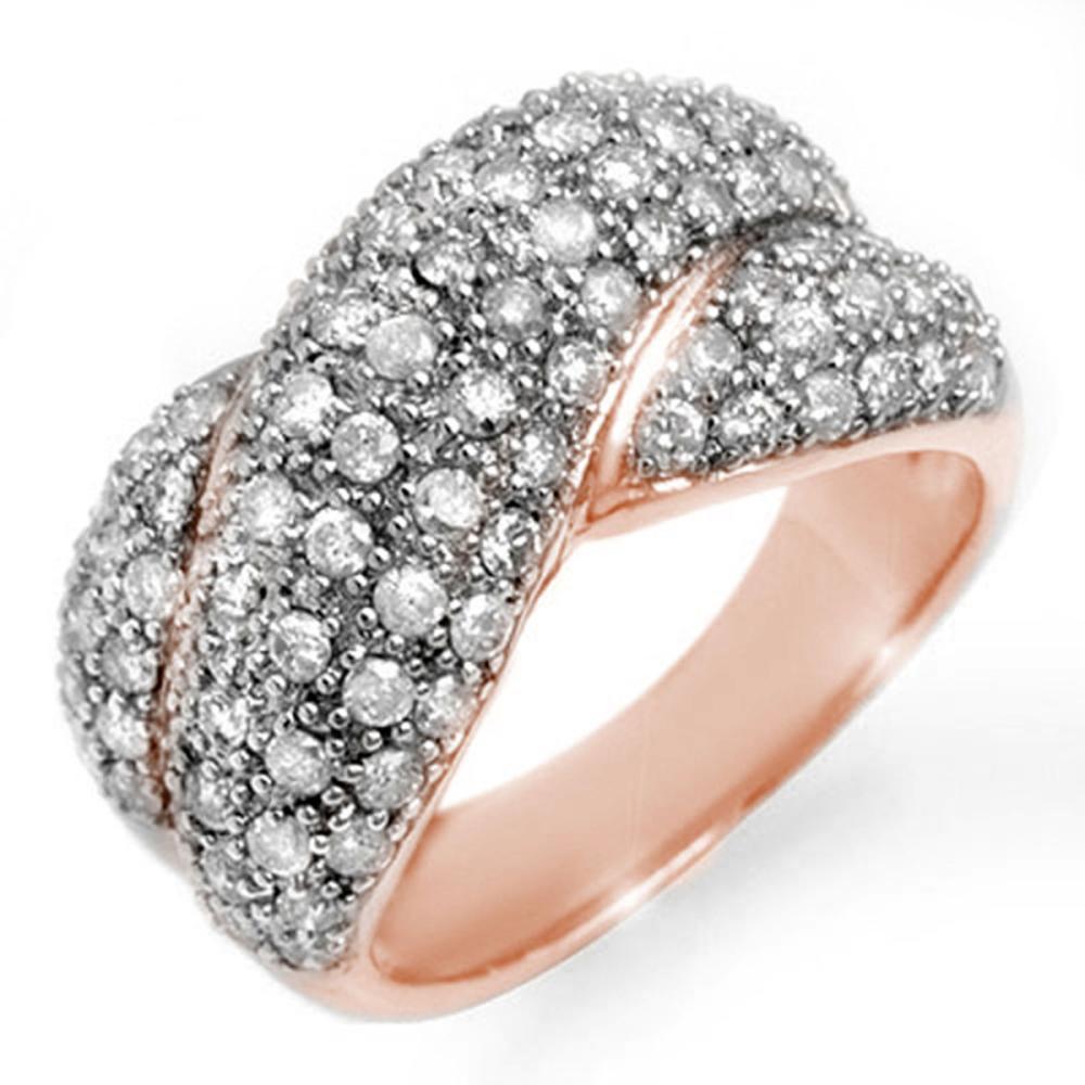 2.05 ctw VS/SI Diamond Ring 14K Rose Gold - REF-154K4W - SKU:14357