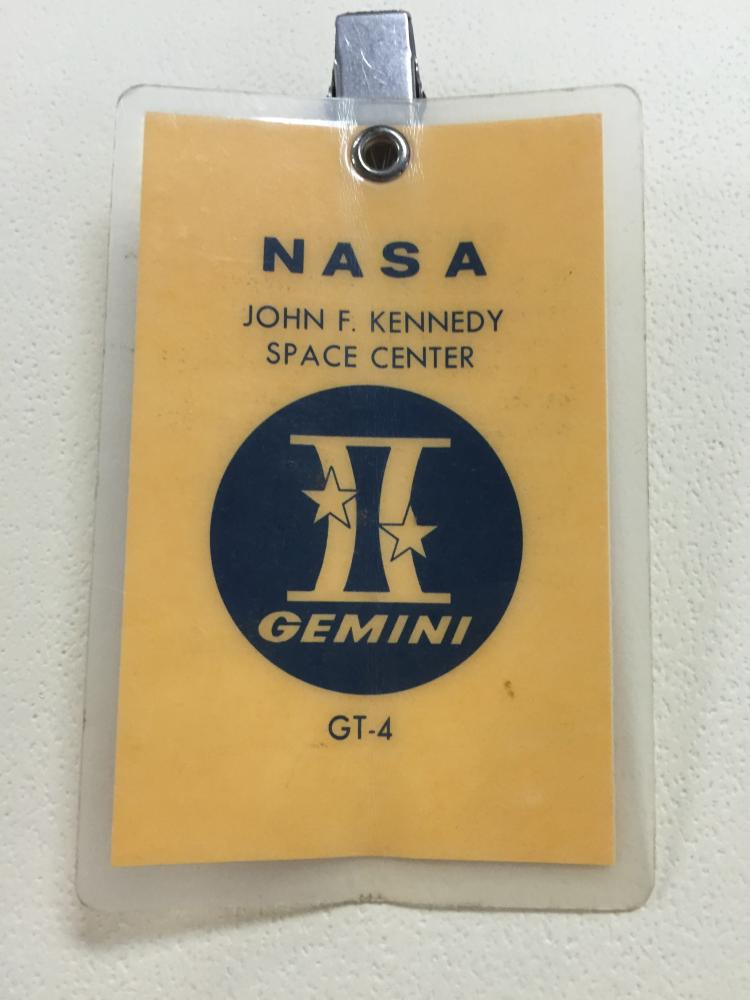 Gemini GT-4 launch badge