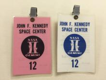 Gemini GT-12 pair of launch badges
