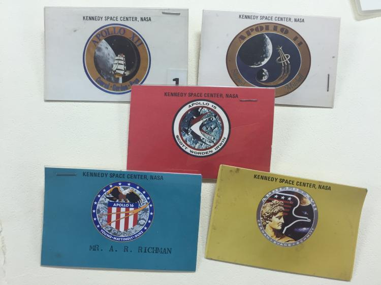 Apollo launch viewing badges