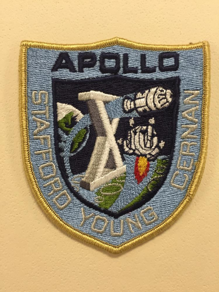 Apollo 10 Post-flight Crew Patch