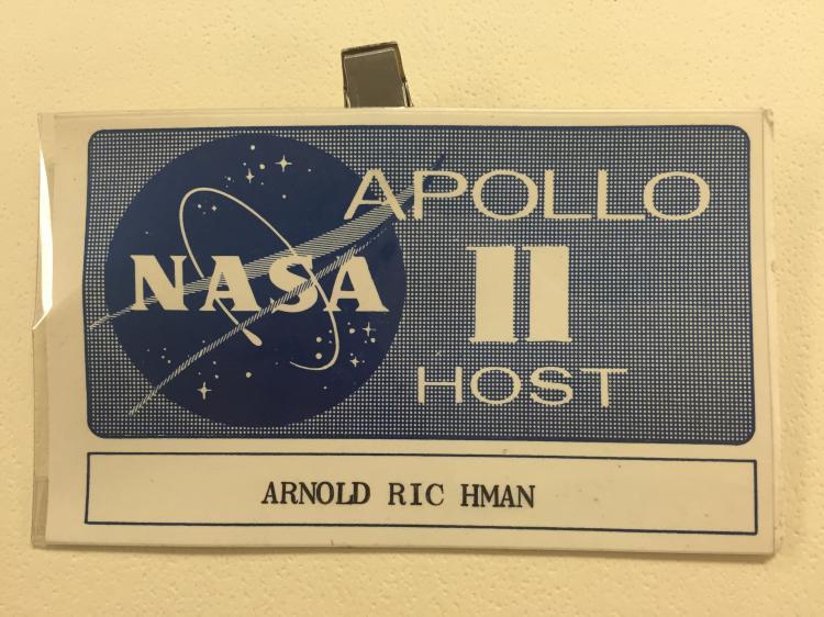 Apollo 11 Host badge