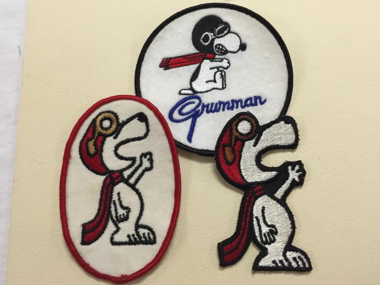 Grummon Snoopy Patch Set