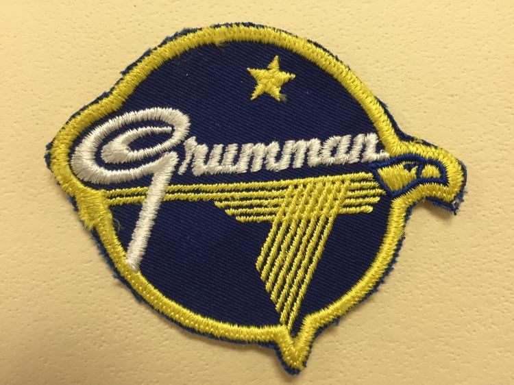 Grumman Logo Patch Variant 1