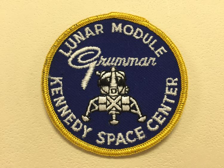 Grumman KSC Original Cloth Back Patch