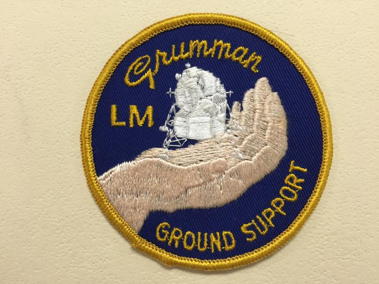 Grumman Lunar Ground Support Patch