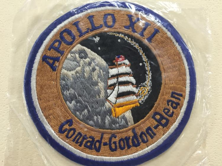 Apollo 12 Cloth Backed Patch