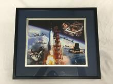 Mercury Astronaut signed photo