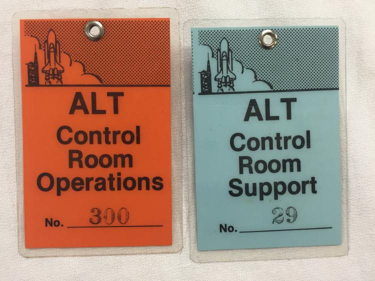 ALT Control Room Support and Operations Badge