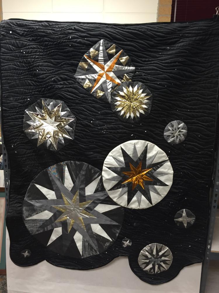 Flown Material Quilt