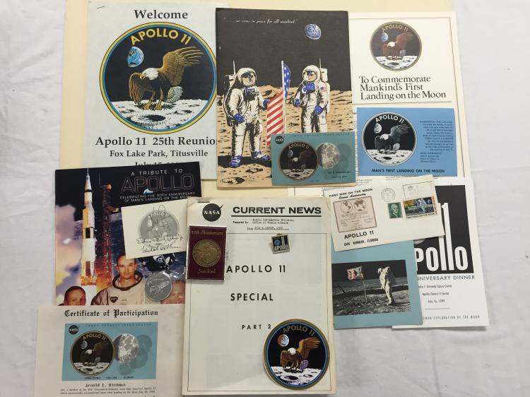 Apollo 11 Souvenir Lot