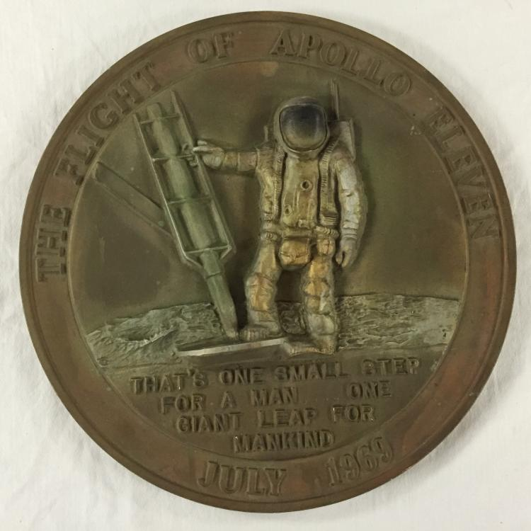 Apollo 11 First Step Plaque