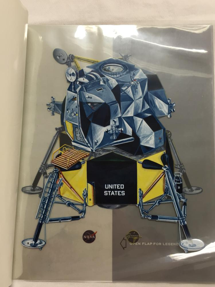Grumman Lunar Module Transparency Book