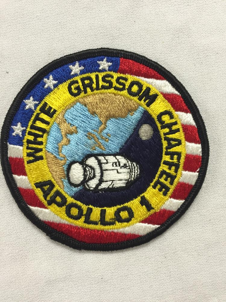 Deke Slayton's Apollo 1 crew patch