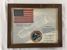 Flown US flag (4