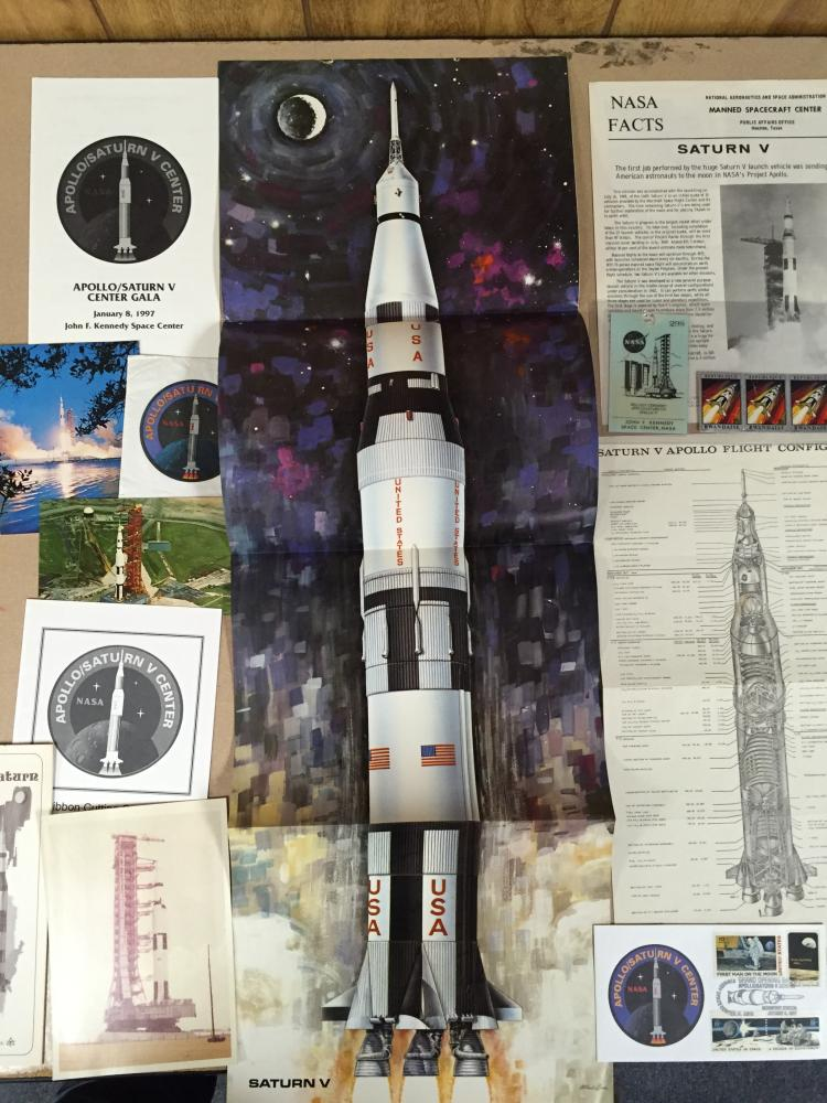 Apollo / Saturn V collection from Ken Havekotte