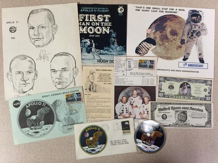 Apollo 11 memorabilia