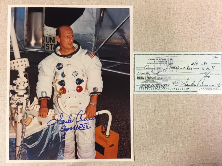 Pete Conrad signed items