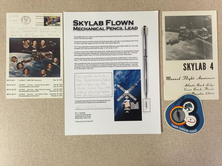 Skylab flown mechanical pencil lead
