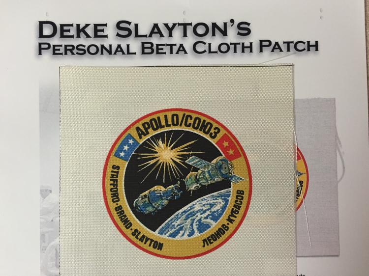 Deke Slayton's personal collection items