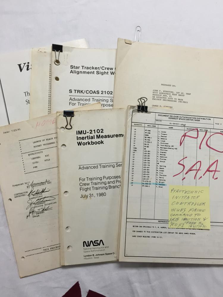Collection of Miscellaneous Manuals from various Programs.