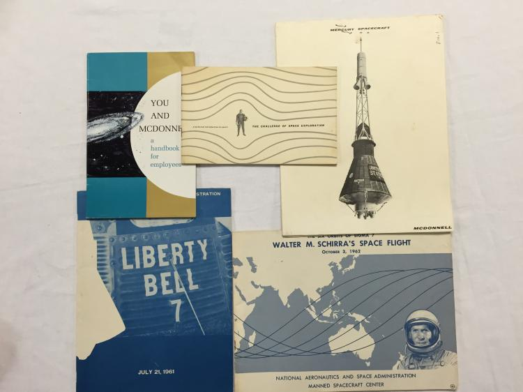 Mercury Era booklets