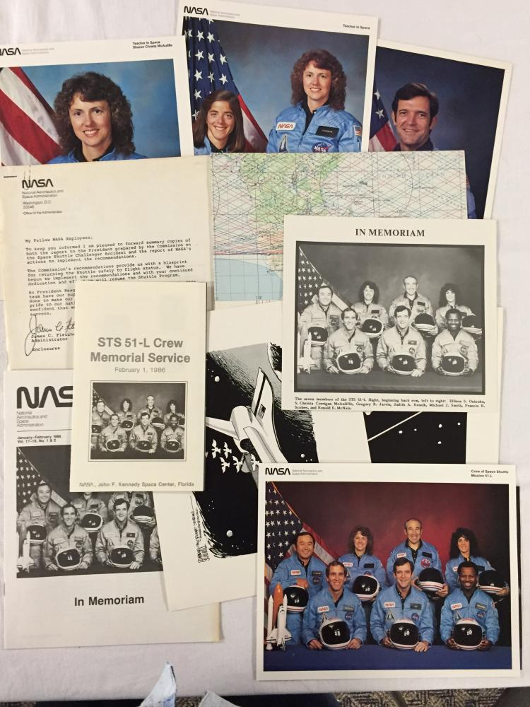 STS-51-L Collection for Challenger's last flight