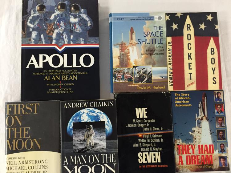 Group of Classic Space Themed Books