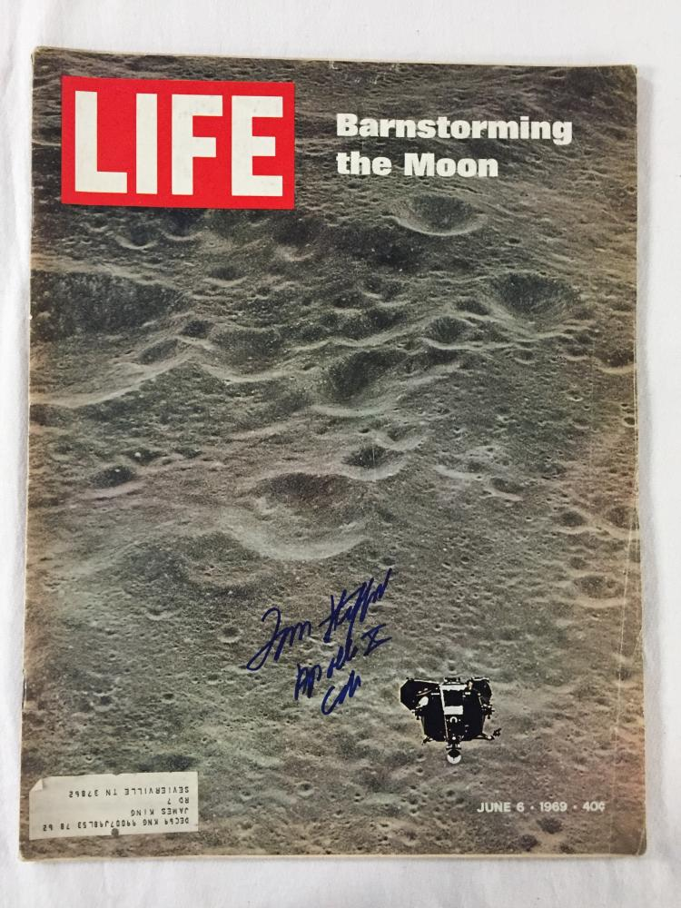 Autographed Life Magazine June 6, 1969