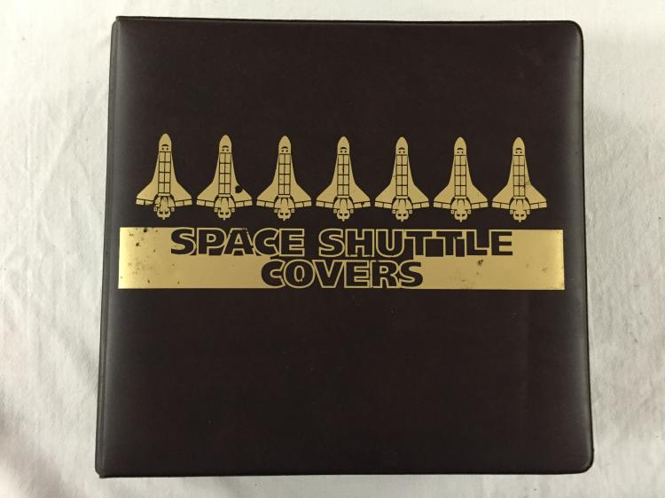 Complete shuttle postal cover album