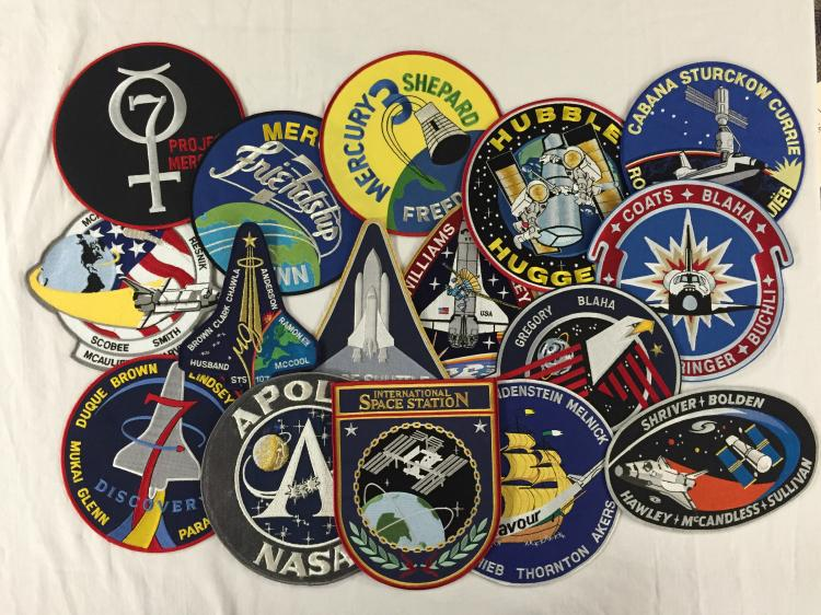 Large cloth patches (most 7.5
