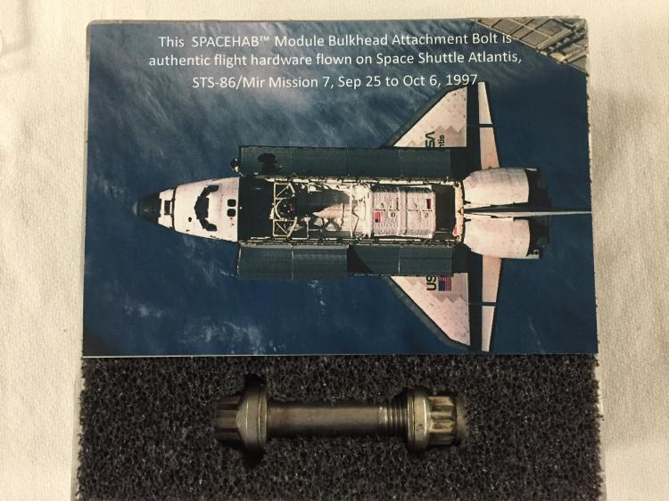 SPACEHAB Module Bulkhead Attachment bolt