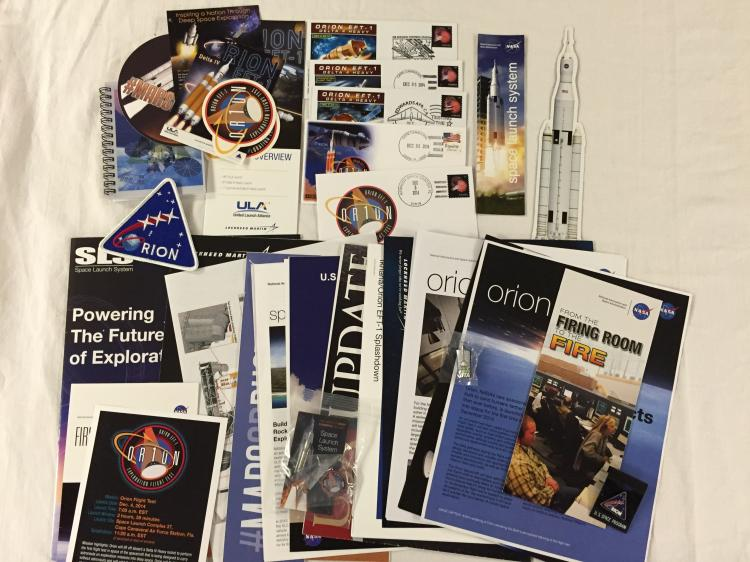U.S. astronauts commercial space collection