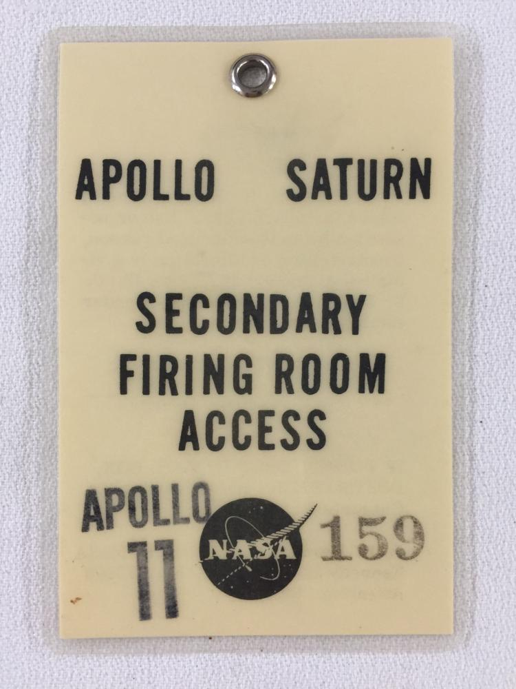 Apollo 11 Secondary Firing Room Badge