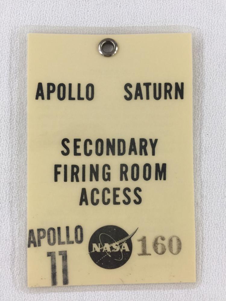 Apollo 11 Secondary Firing Room Badge