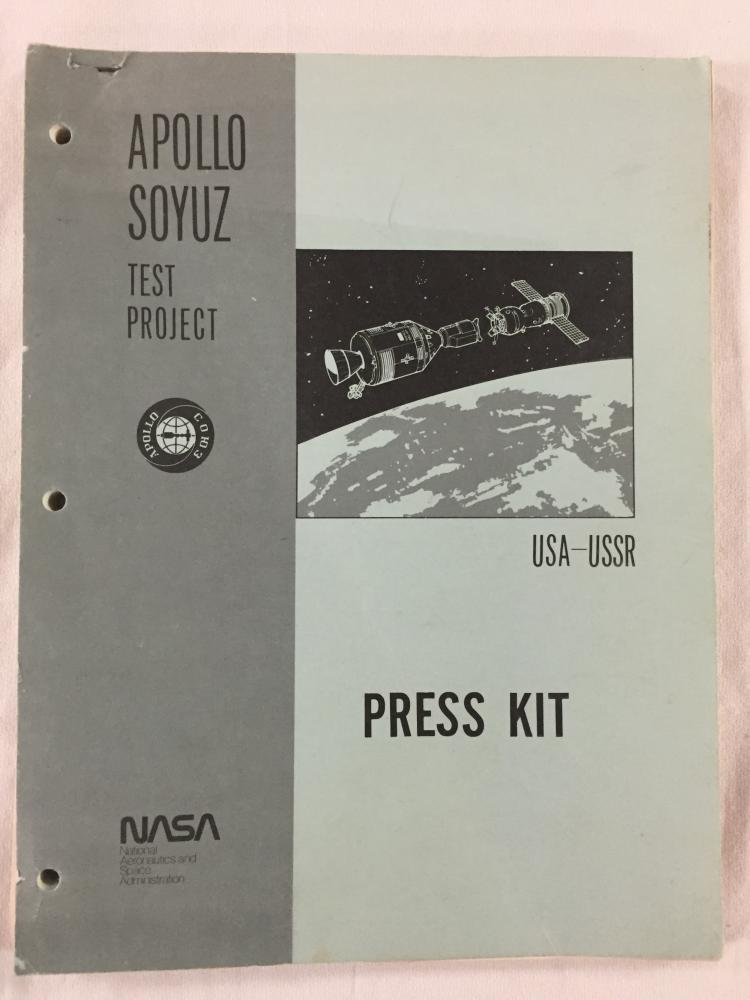 Apollo Soyuz Test Project Press Kit