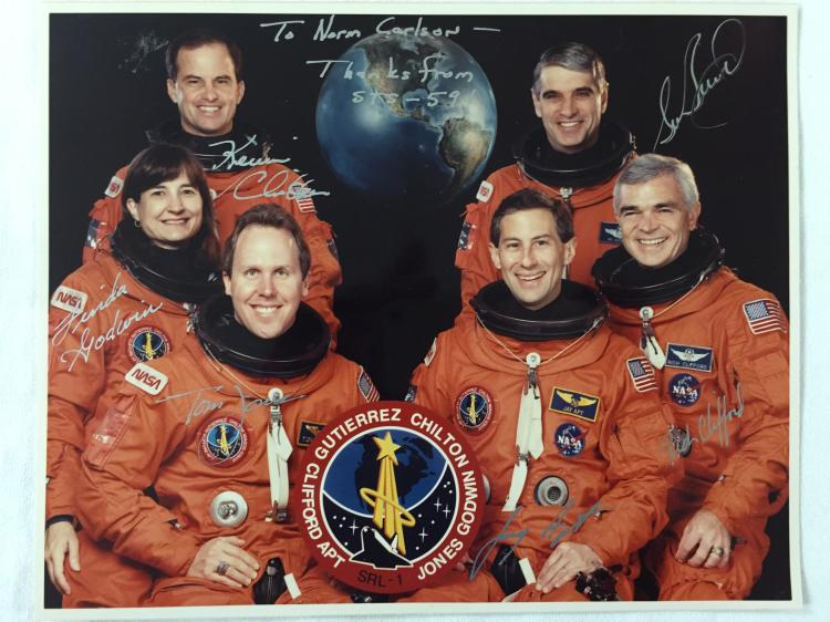 STS-59 Signed Photograph