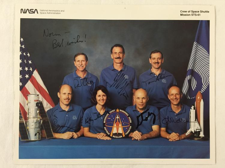 STS-61  Crew Signed Lithograph