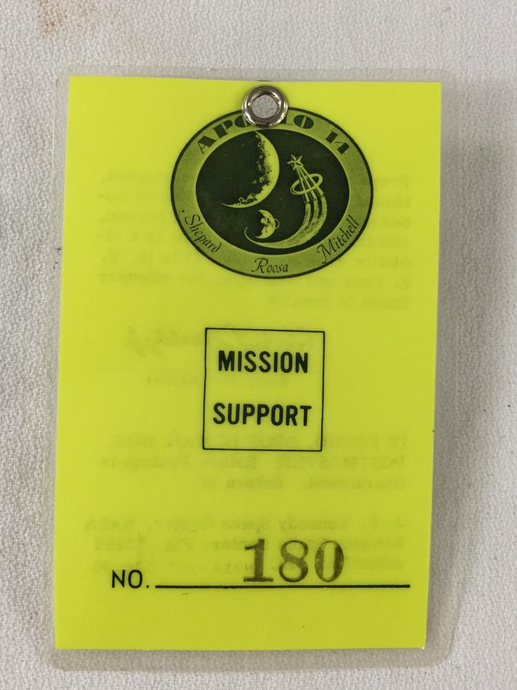 Apollo 14 Mission Support Badge