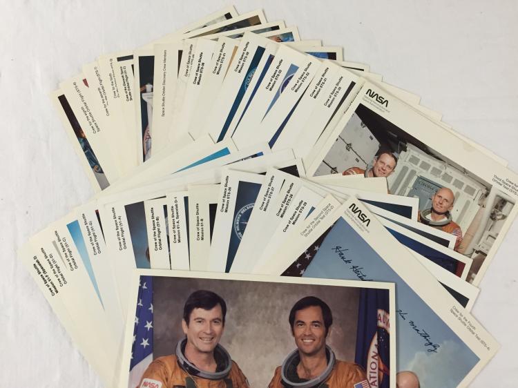 Space Shuttle Crew (auto pen) Extravaganza