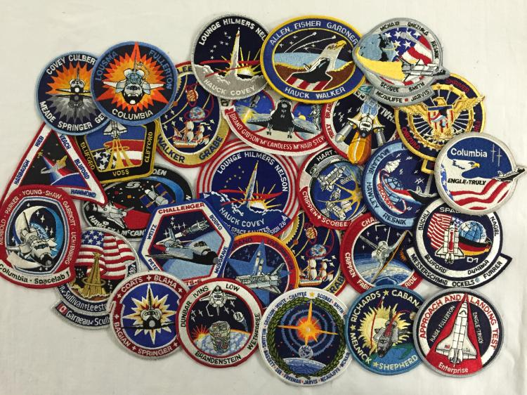 Space Shuttle Patch Collection little duplication