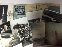 Early Mercury / McDonnell photograph and publication lot