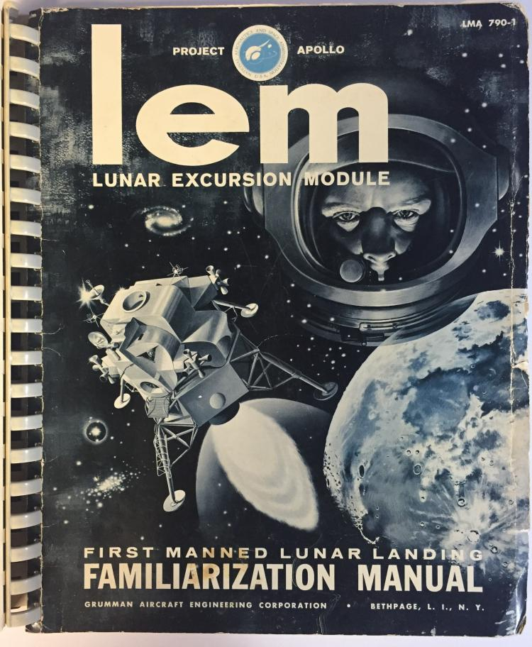 Grumman Lunar Excursion Module Familiarization Manual Book