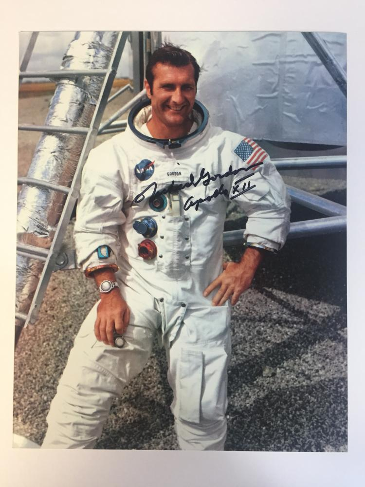 Richard Gordon signed photo