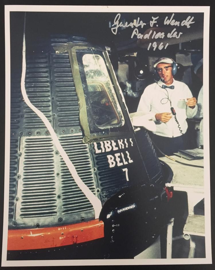 Liberty Bell 7 Photograph signed by Guenter Wendt