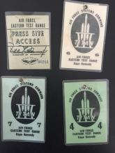 Titan launch viewing badges