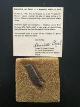 Mercury Freedom 7 Launch gantry fragment
