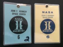 Gemini GT-6 launch badges