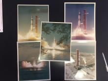 Apollo launch photographs
